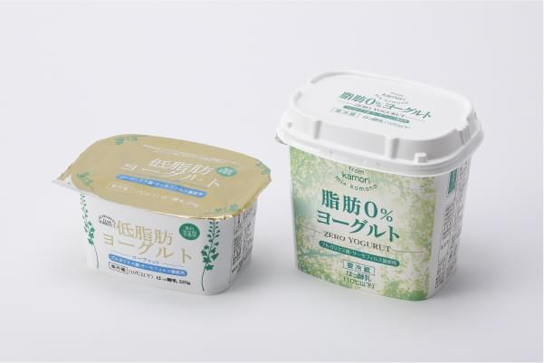 from kamori 低脂肪ヨーグルト・from kamori 脂肪0%ヨーグルト